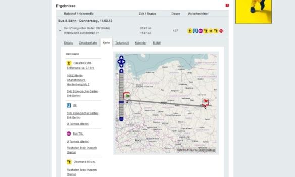 VBB map service